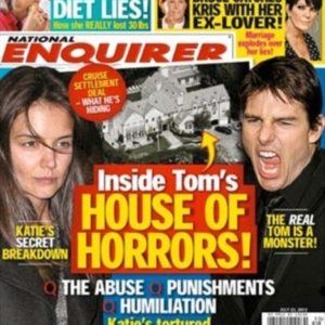 """""""La casa del horror"""" de Katie y el """"monstruo"""" Tom Cruise 22"""
