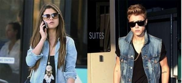 Justin Bieber y Selena Gomez con el mismo look en Australia 21
