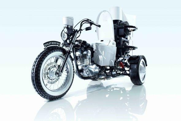Conoce a TOTO la motocicleta que funciona con excrementos 14