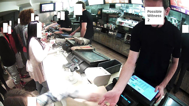 Atacado por llevar unas e-gafas en un McDonald's parisino 2