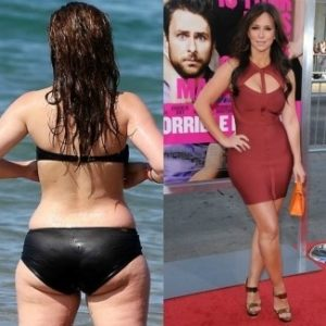 ¡Así lucen 10 famosas sin Photoshop y en bikini! 28