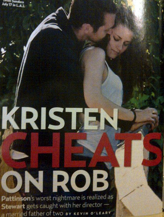 Kristen Stewart admite haberle sido infiel a Robert Pattinson 36
