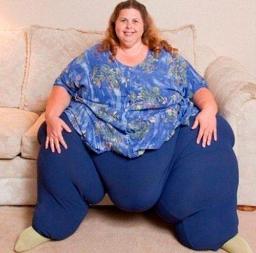 noticias La mujer más gorda del mundo baja de peso con una dieta a base de sexo