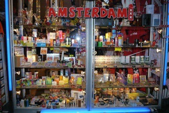 La tienda de drogas de Super Mario Bros en Amsterdam 17