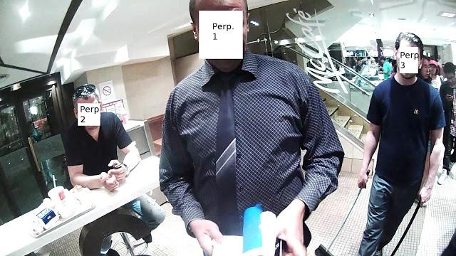 Atacado por llevar unas e-gafas en un McDonald's parisino 3