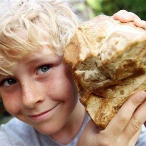 """Niño halla una curiosa """"piedra"""" y se gana 63 mil dólares 22"""