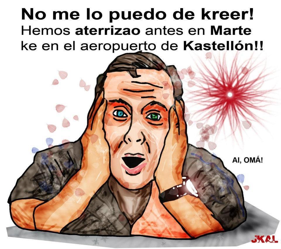 Marte ya supera en tráfico aéreo al aeropuerto de Castellón 26