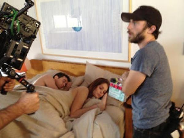 Lindsay Lohan hizo desnudar a todo el set de filmación 14