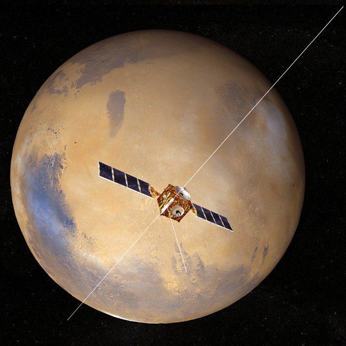Se detectan en la superficie de Marte antiguos lechos de lagos y ríos 16