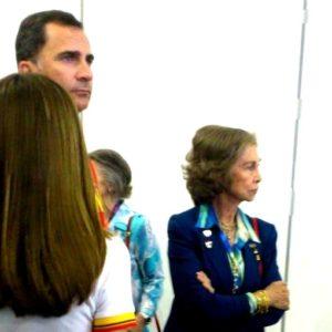 Los príncipes y la reina Sofía, expulsados de la zona mixta de los Juegos Olímpicos de Londres 2012 4