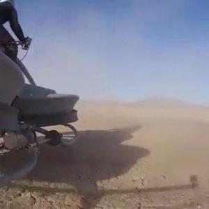Lo consiguieron: ya existe la moto voladora y se llama Aerofex 7