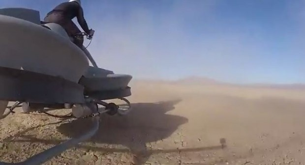 Lo consiguieron: ya existe la moto voladora y se llama Aerofex 9