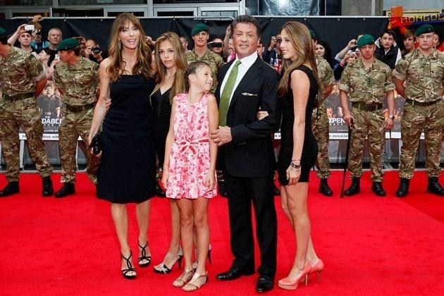 Stallone habló por primera vez sobre la muerte de su hijo 2