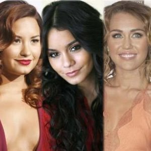 Miley Cyrus, Demi Lovato y Vanessa Hudgens de estrellas de Disney a chicas rebeldes 28