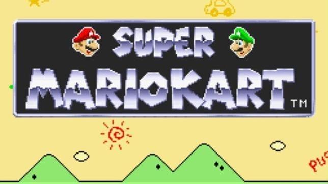 6052b471b50b91653af7591d4b0162e1 - Super Mario Kart cumple 20 años