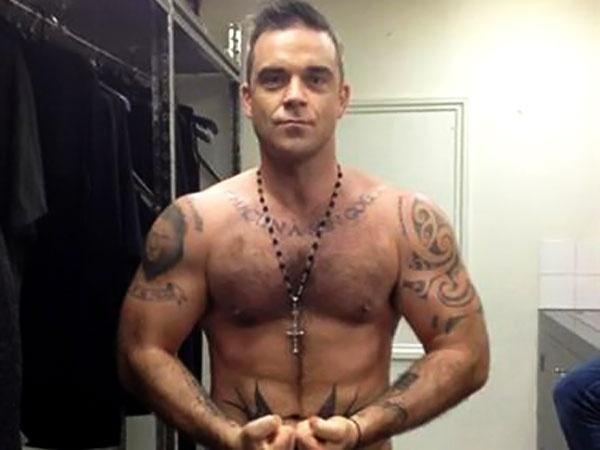 El nuevo Robbie Williams 5
