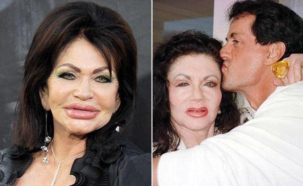 6c40637f76178b8285ca809948d5711f - Jackie, la exótica madre de Sylvester Stallone: 90 años... ¡y 30 mil dólares en cirugías!