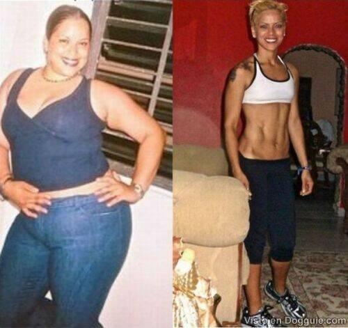 Increíbles transformaciones físicas 14