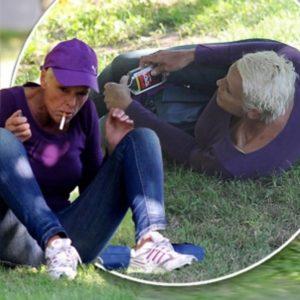 Brigitte Nielsen, ebria y desorientada en un parque 28
