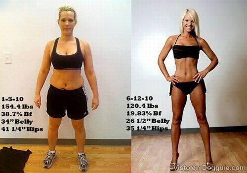 Increíbles transformaciones físicas 34 - Increíbles transformaciones físicas