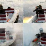 Rusos pescando con una granada casi pierden la vida 12