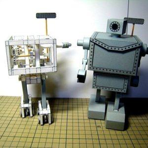 MRM el robot de papel que camina sin pilas 20