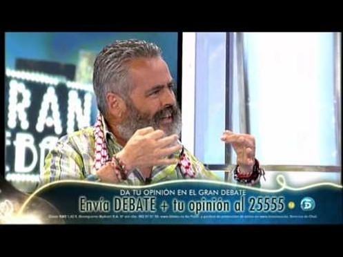 """Juan Manuel Sánchez Gordillo en 'El Gran Debate': """"Vamos a seguir ocupando bancos y espero que vengáis conmigo"""" 7"""
