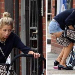 La perlita de una celebridad británica: se le cayó el bebé, ¡y siguió hablando por teléfono! 14