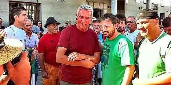 "El 'Follonero' se suma a la ""Marcha Obrera"" del SAT y Juan Manuel Sánchez Gordillo 12"