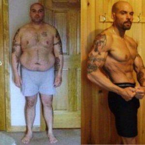 Sorprendentes transformaciones: lo que el gimnasio y comer bien puede hacer 55