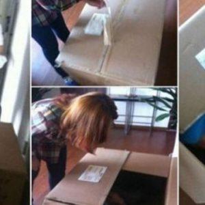 Un joven chino casi muere asfixiado al enviarse como regalo para su novia 22