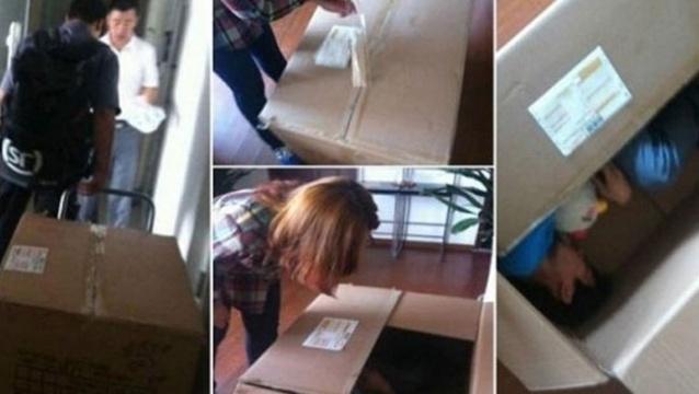 b15e8a343e5728d8313eac39cd22374b - Un joven chino casi muere asfixiado al enviarse como regalo para su novia