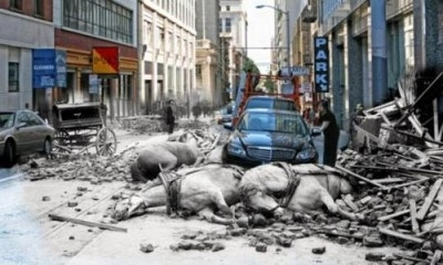 Así quedaría San Francisco si se produjera un terremoto 2