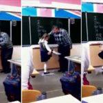 Video: Niña le da una patada en los huevos a profesor que la maltrata 7