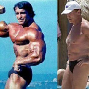 10 famosos musculosos antes y después 2