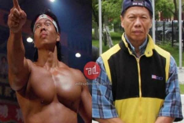 Famosos musculosos antes y después Bolo Yeung