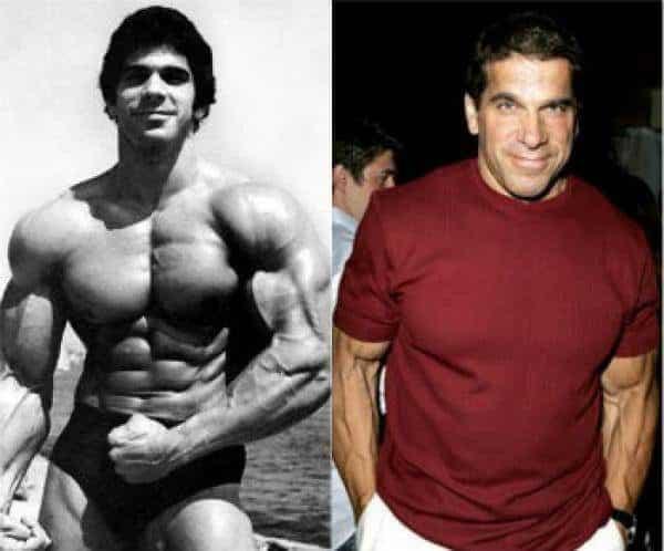 Famosos musculosos antes y después Lou Ferrigno