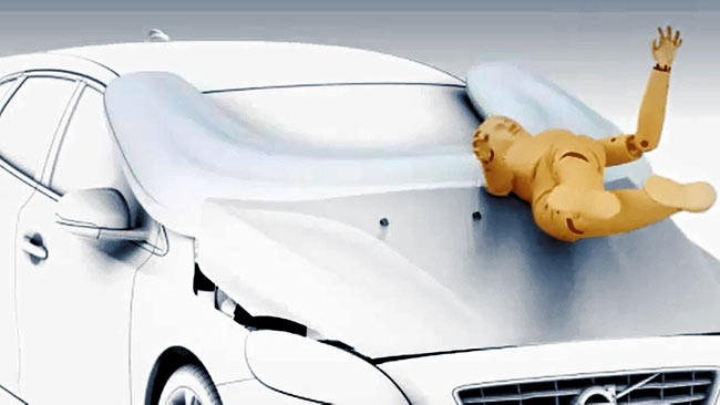 #Video Coches con airbag para peatones 12