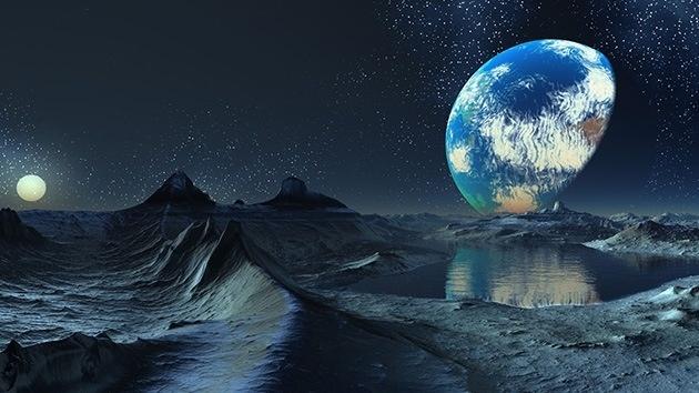 Сientíficos descubren moléculas de agua en la Luna 9