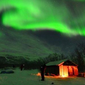 #Video Aurora boreal 13 días de observación en un minuto 14