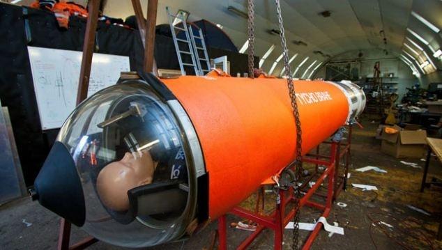 Daneses crean una nave espacial casera 13