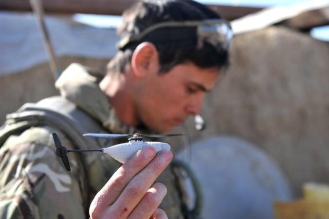 Mini helicopteros de 10 centímetros, lo último en espionaje militar 12