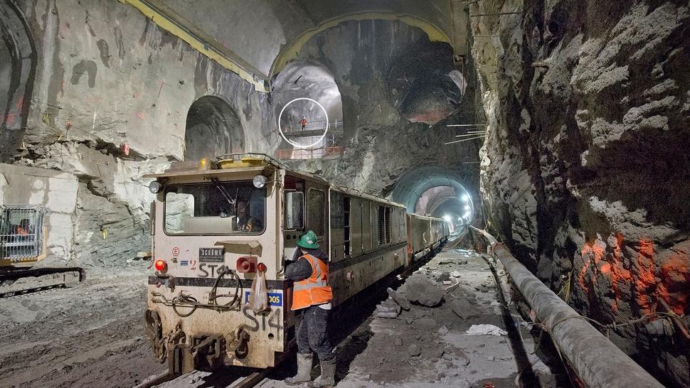 Estos son los gigantescos túneles que agujerean Manhattan 10