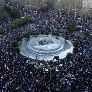 Las manifestaciones de ayer #23F 25