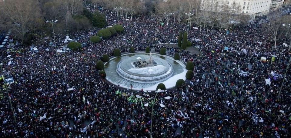 Las manifestaciones de ayer #23F 8