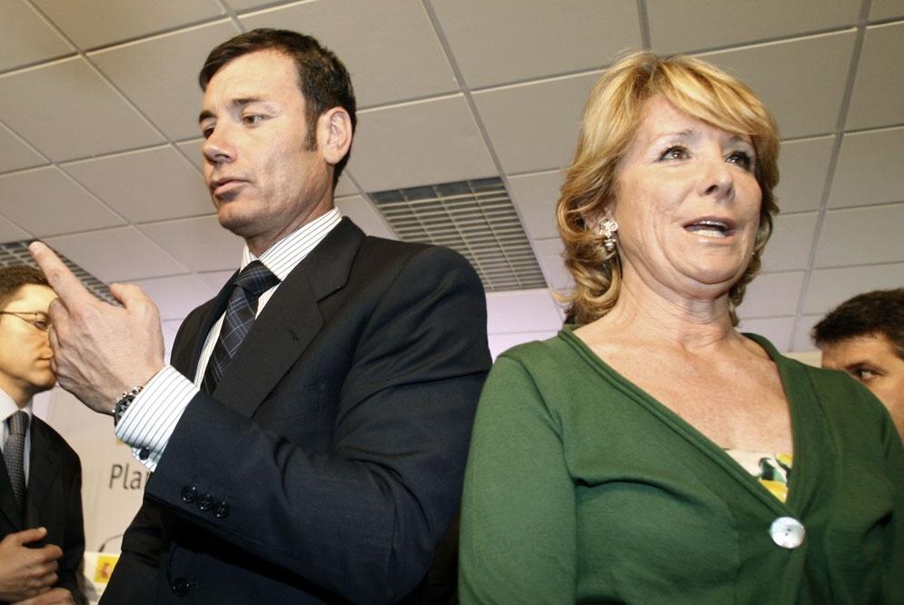 Esperanza Aguirre es la Tomás Gómez del PP 18