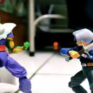 #Video Espectacular Stop Motion de Dragon Ball Z con efectos especiales 22