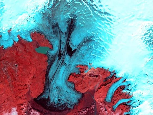 Impactantes fotos satelitales de la Tierra 12