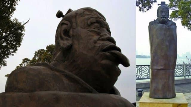 El filósofo Lao-Tsé, en Shuzou.