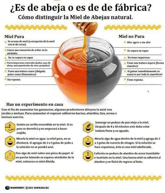 Detectar miel falsa de la verdadera - Noticias Curiosas